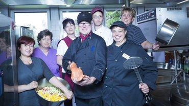 Bildungszentrum Gladenbach Gastronomie Küche