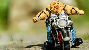 Biker Motorrad