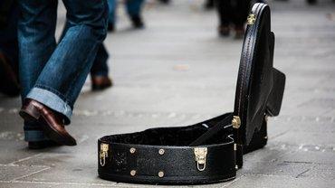 Gitarre Spende Förderung Kunst Musik