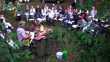Bildungszentrum Gladenbach Sonderprogramm Veranstaltung Lagerfeuer