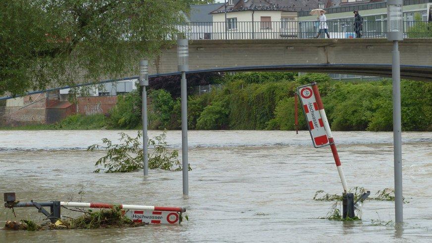 Hochwasser Flut Überschwemmung Wasser Flut Klimakrise